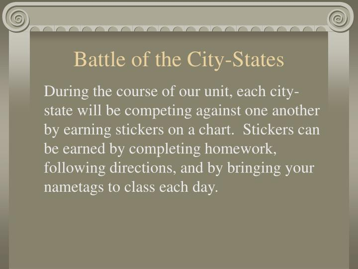 Battle of the City-States
