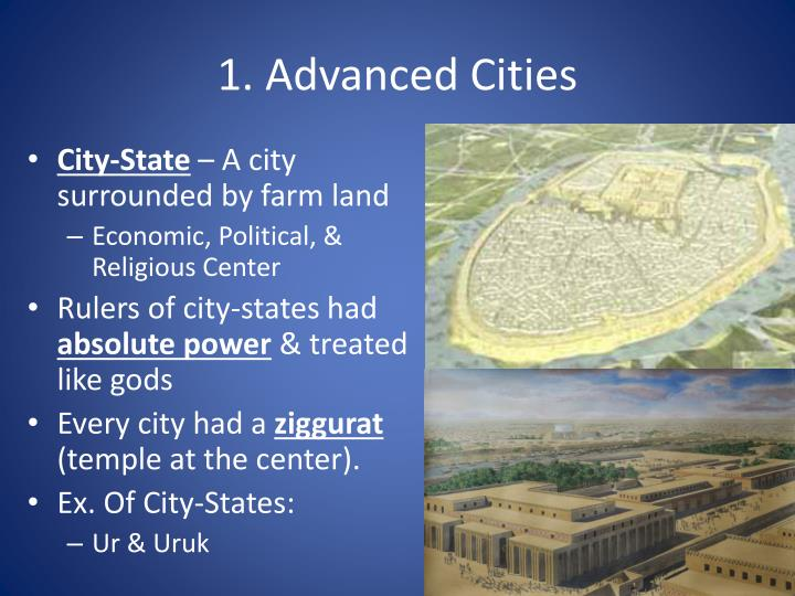 1. Advanced Cities