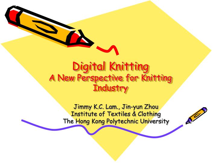 digital knitting a new perspective for knitting industry n.