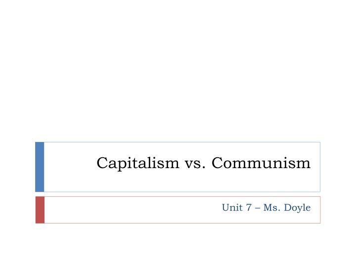 Ppt  Capitalism Vs Communism Powerpoint Presentation  Id Capitalism Vs Communism Small Essays In English also Graduating High School Essay  Getting Help Writing A Business Plan