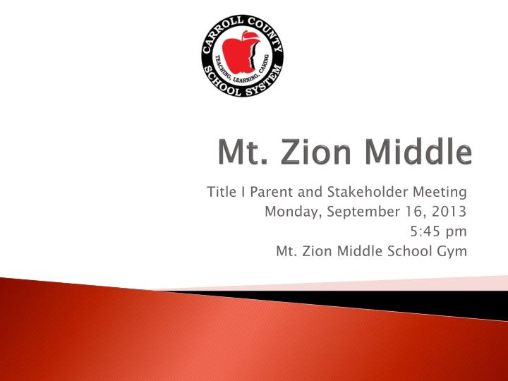 mt zion middle n.