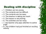 dealing with discipline1