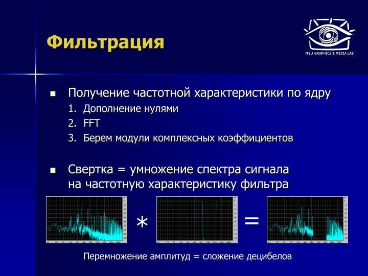 Частотная фильтрация