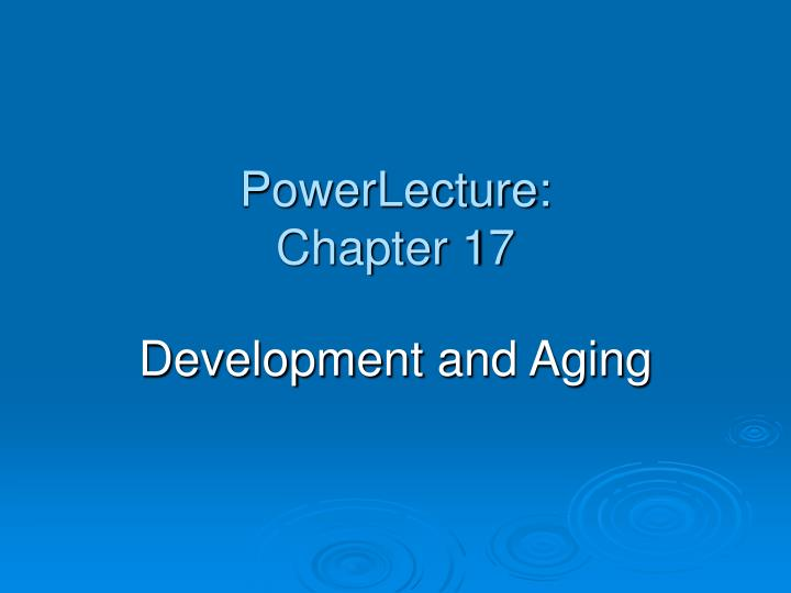 powerlecture chapter 17 n.