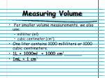 measuring volume1
