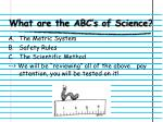 what are the abc s of science