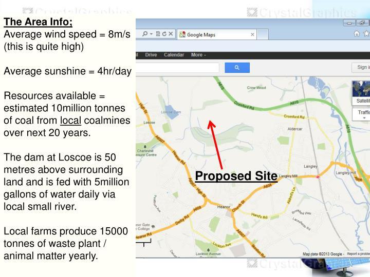 The Area Info;