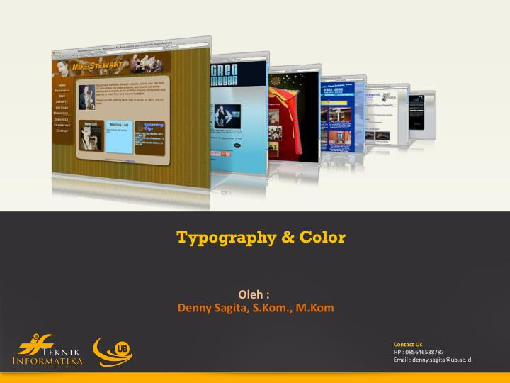 Typography & Color