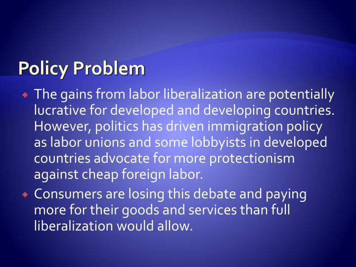Policy Problem