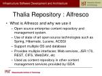 thalia repository alfresco