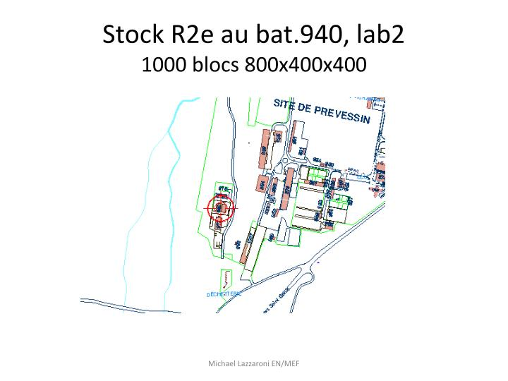 Stock R2e au bat.940, lab2