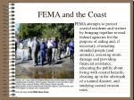 fema and the coast