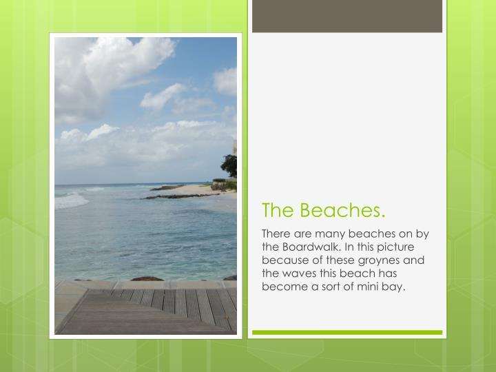 The Beaches.