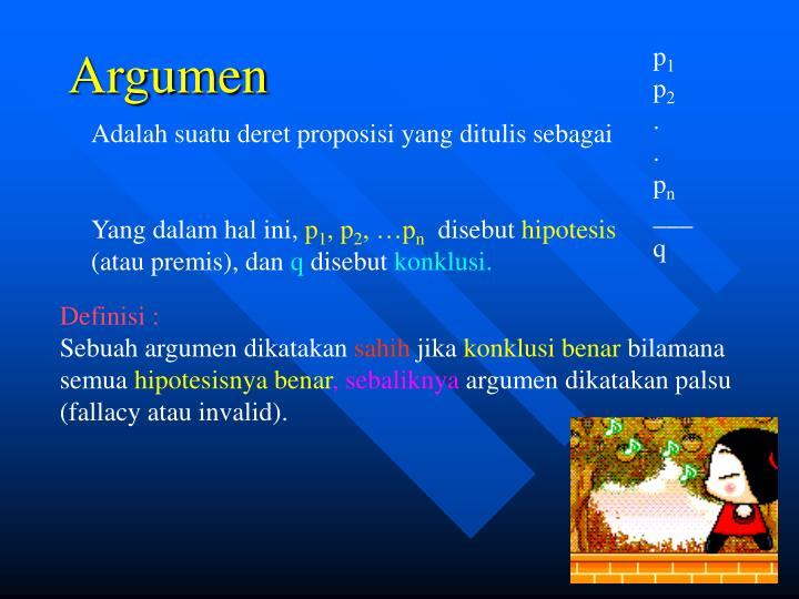 Argumen