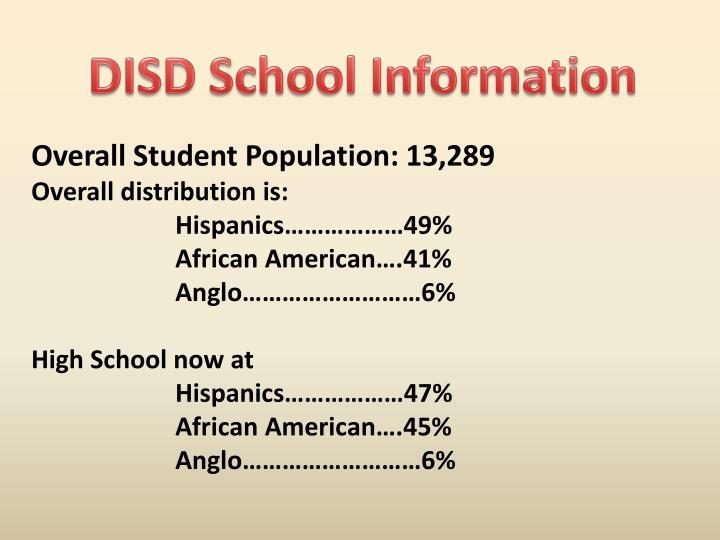 DISD School Information