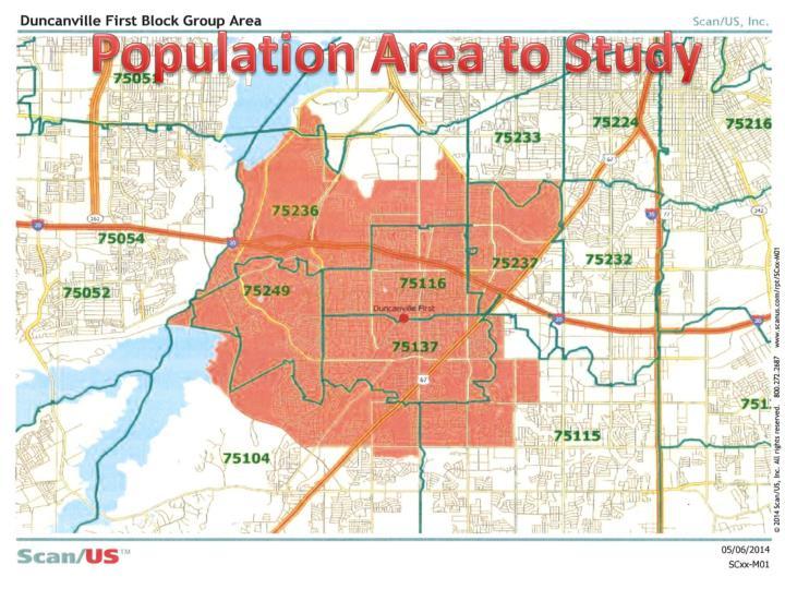 Population Area to Study
