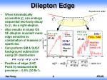 dilepton edge1