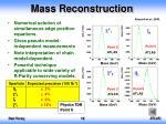 mass reconstruction1