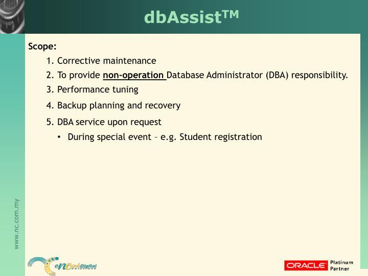 dbAssist