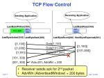 tcp flow control17