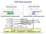 tcp flow control18