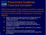 procurement guidelines fraud and corruption1