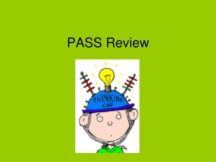 pass review n.