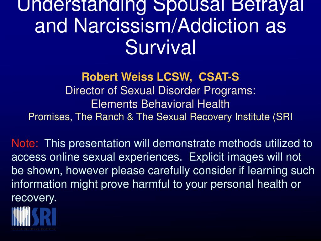 Sexual health in recovery addiction
