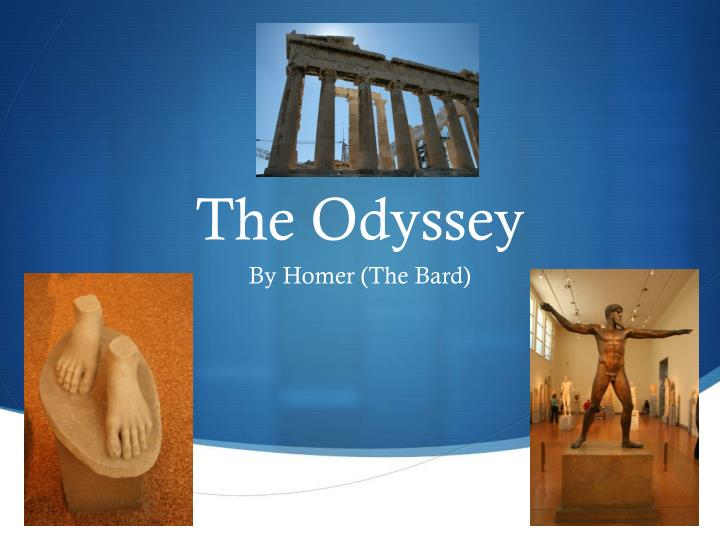 an analysis of various cultures in the odyssey by homer The odyssey by homer, part of the internet classics archive.