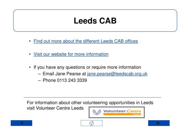 Leeds CAB