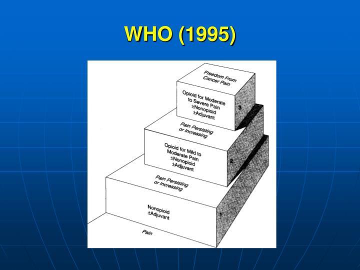 WHO (1995)