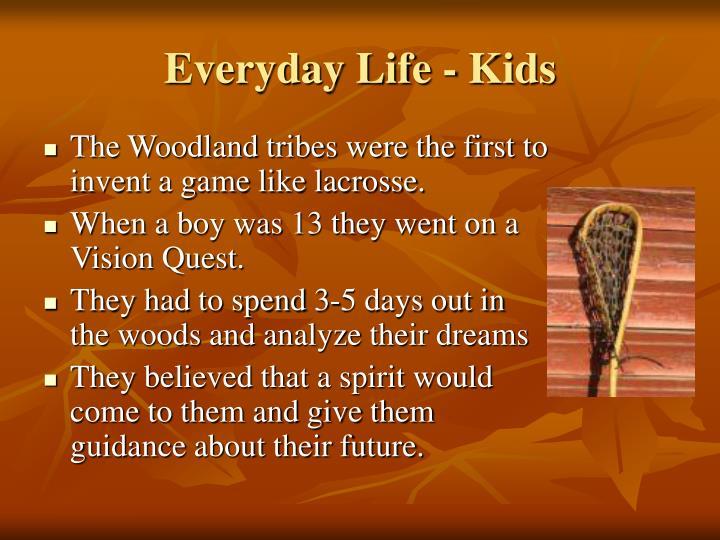 Everyday Life - Kids