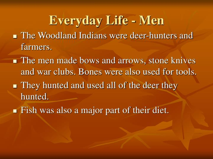 Everyday Life - Men