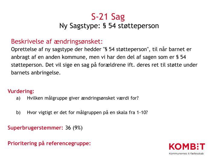 S-21 Sag