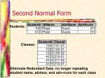 second normal form1