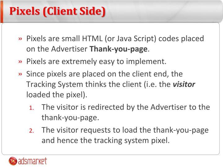 Pixels (Client Side)