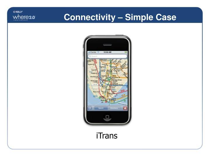 Connectivity – Simple Case