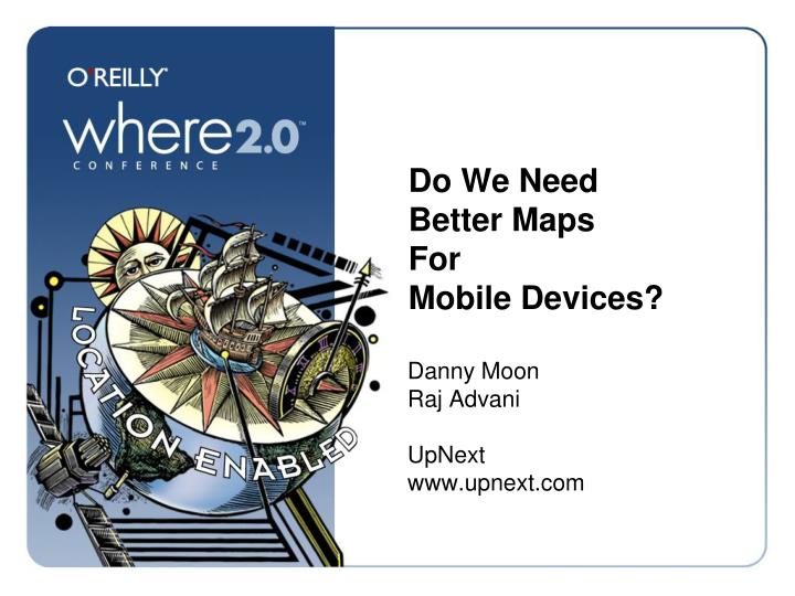 Do we need better maps for mobile devices