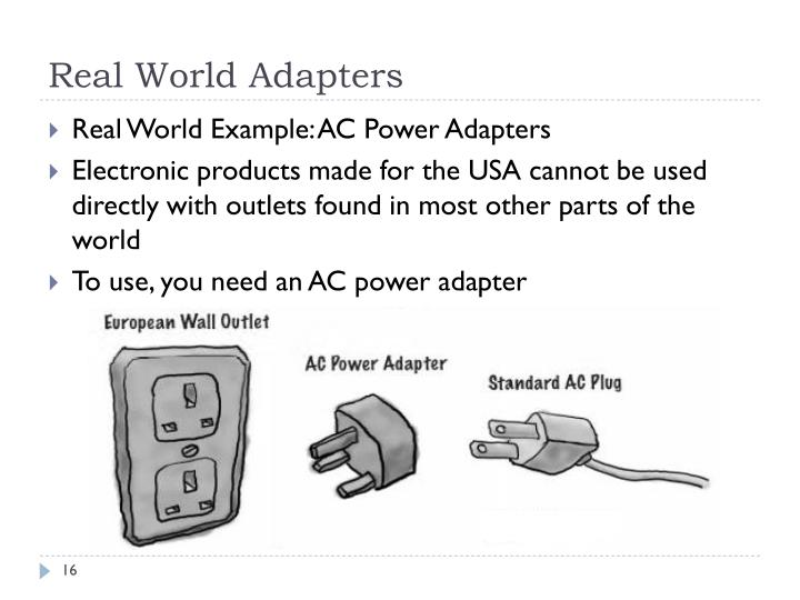 Real World Adapters
