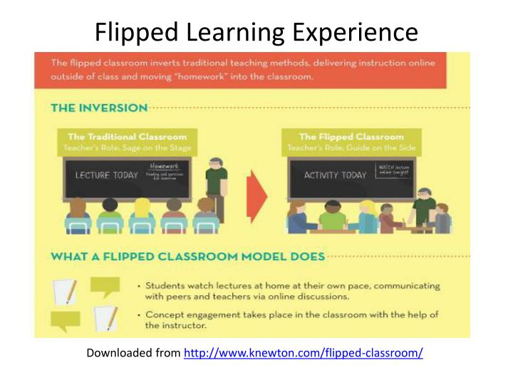 Flipped Learning Experience