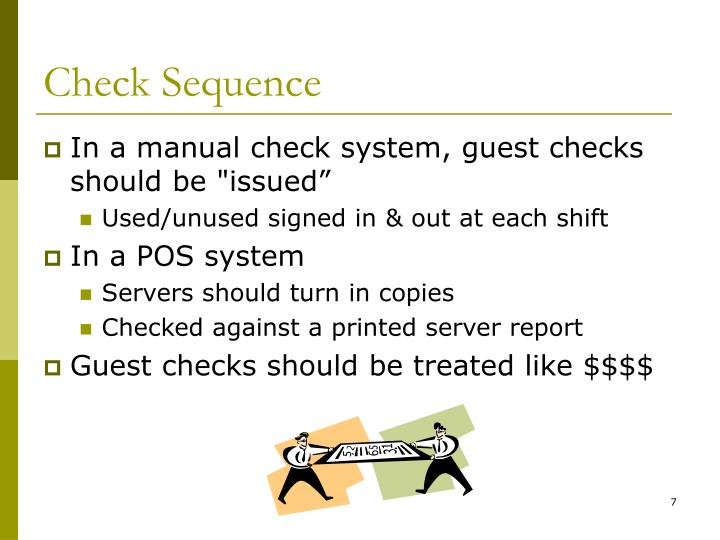 Check Sequence