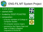 eng fil mt system project
