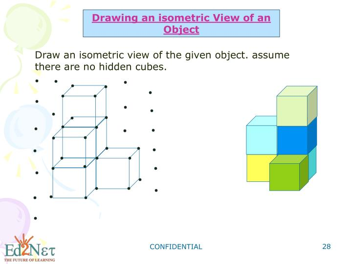 Drawing an isometric View of an Object
