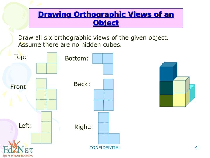 Drawing Orthographic Views of an Object