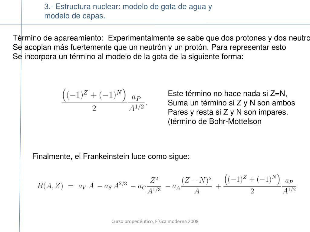 Ppt Curso Propedéutico De Física Moderna I Instituto De