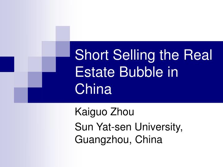 real estate bubble in china The chinese property bubble was a real estate bubble in residential and/or commercial real estate in china the phenomenon has seen average housing prices in the.