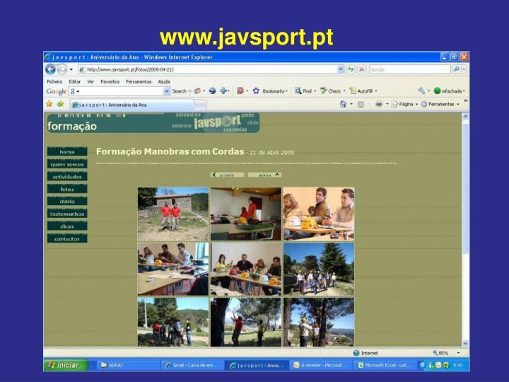 www.javsport.pt