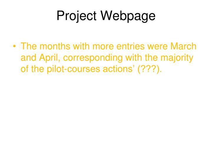 Project Webpage