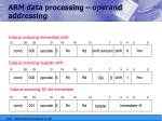 arm data processing operand addressing1