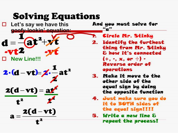 Let's say we have this goofy-lookin' equation: